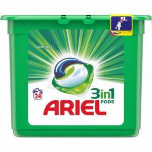 Detergente cápsulas sensaciones ariel 23 dosis