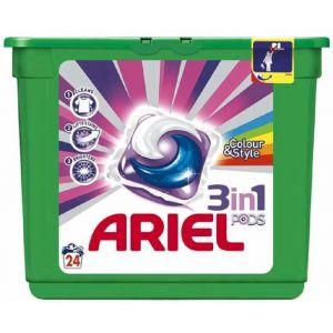Detergente cápsulas color ariel 23 dosis