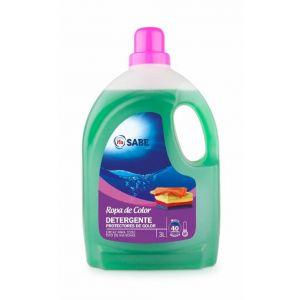 Detergente líquido ropa color ifa sabe 40 dosis 3 litros