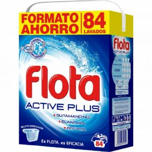 Detergente polvo flota 84 dosis 5 kilos