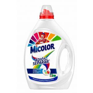 Detergente líquido adios separar micolor 30 dosis 1,5 litros