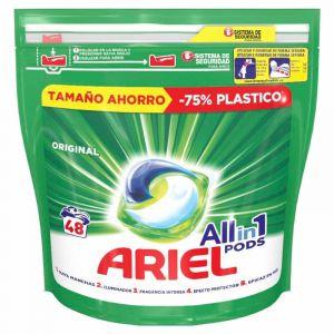 Detergente cap 3en1 original ariel 48ds