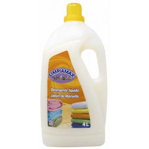 Detergente liquido marsella limpiamax 80ds 4l