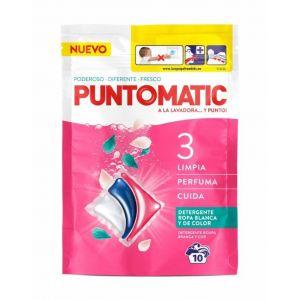 Detergente capsulas tricamara puntomatic 10 dosis