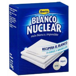 Blanqueador polvo blanco nuclear iberia  120 gramos
