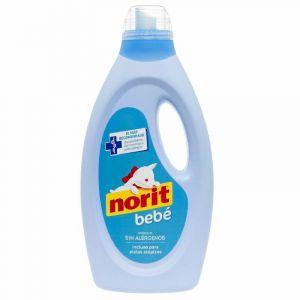 Detergente líquido máquina delicado bebé norit 32 dosis 1,125 litros