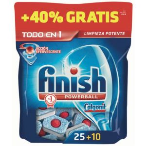 Lavavajillas máquina pastilla finish regular 25 dosis