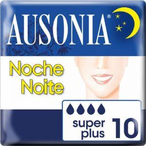 Compresa noche plus ausonia 10ud