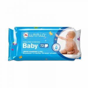 Toallitas húmedas baby ifa unnia pack de 72 unidades