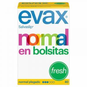 Salvaslip normal plegado fresh evax 40ud