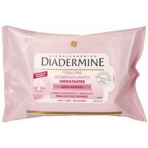Toallitas desmaquillantes diadermine pack de 20 unidades