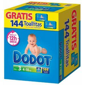 Pañal t3 4-10kg dodot box 132 ud