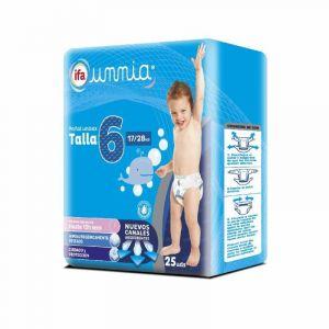 Pañal junior t6 ifa unnia 17-28kg 25ud