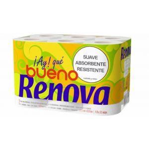 Papel higienico ole renova 2 capas 12rollos