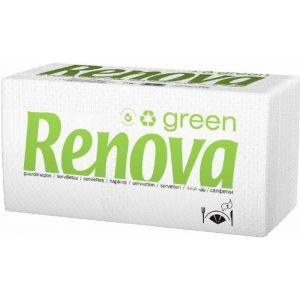 Servilleta green renova 200 unds