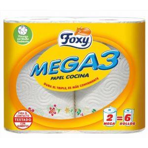 Papel cocina mega3 3 c 2rollos