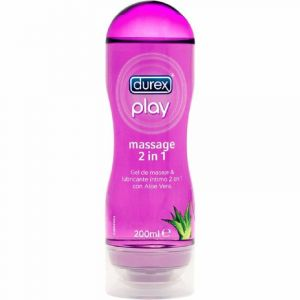 Gel play masaje 2en1 durex 200ml