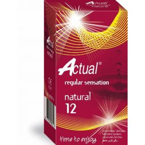 Preservativo natural actual 12ud
