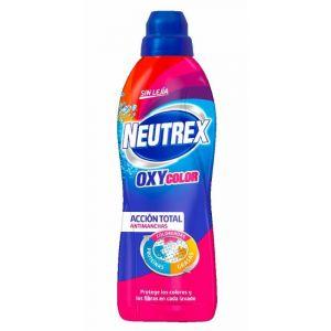 Quitamanchas gel lavado oxy color sin lejía neutrex 800ml