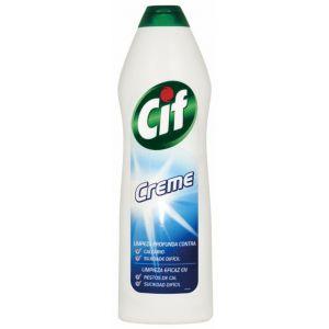 Limpiador crema blanco cif 750 ml