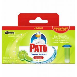 Limpiador wc disco activo lima pato