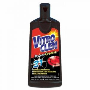 Limpiador vitrocerámica power 3 en 1 vitroclen 200 ml