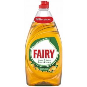 Lavavajillas manofrescor naranja fairy 820 ml