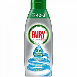 Lavavajillas maq gel brisa marina fairy platinum 30+15d 650ml