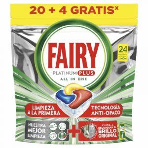 Lavavajillas past platinum plus fairy 20+4ds