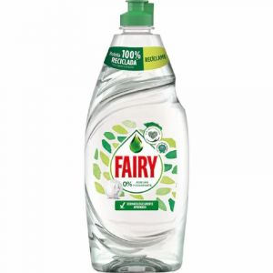 Lavavajillas mano natural 0% fairy 650ml