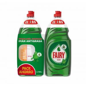 Lavavajillas mano original fairy 2x780ml