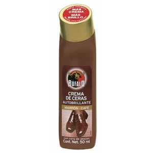 Limpiazapatos marron bufalo liquido 50ml