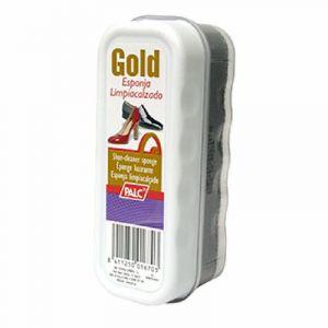 Esponja calzado brillo gold palc