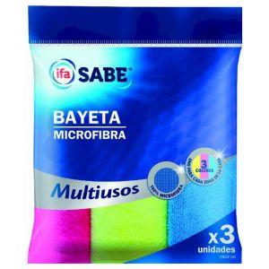 Bayeta microfibra  ifa sabe 3 ud