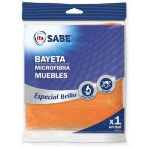 Bayeta microfibra mueble ifa sabe 1 ud