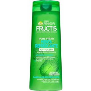 Champú fructis purefresh menta refrescante garnier 360 ml