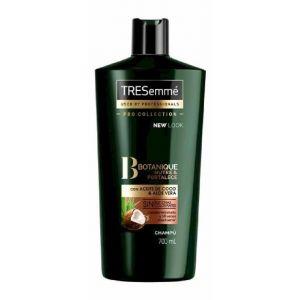 Champú botanique con aceite de coco y aloe vera, botanique nutre y fortalece tresemmé 700 ml