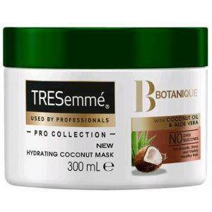 Mascarilla con aceite de coco y aloe vera, botanique nutre y fortalece tresemmé 300 ml
