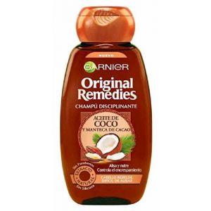 Champú original remedies coco y cacao garnier 300 ml