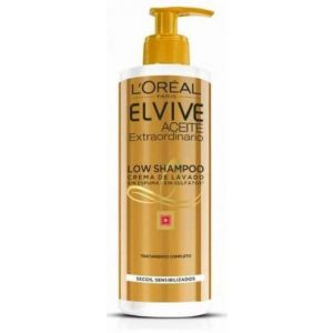 Champú elvive low shampoo aceite extraordinario cabello seco l'oréal paris  400 ml