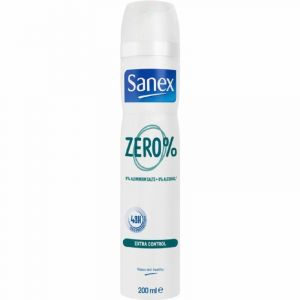 Desodorante zero 0% extracontrol sanex spray 200ml