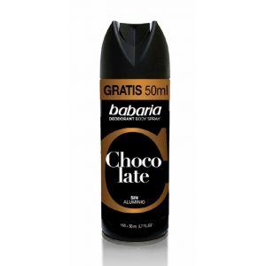 Desodorante spray hombre chocolate babaria 150 ml