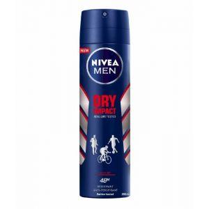 Desodorante spray para hombre dry impact nivea 200 ml
