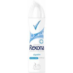 Desodorante spray anti-transpirante algodon rexona 200 ml