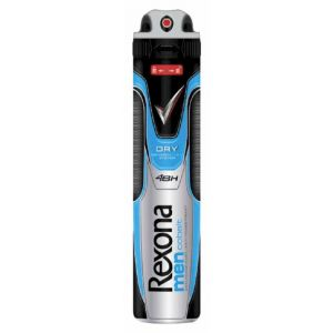Desodorante anti-transpirante para hombre cobalt rexona 200 ml