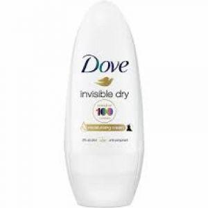 Desodorante roll on invisible dry dove 50 ml
