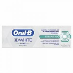 Dentifrico white luxe blanqueamiento intensivo oral b 75ml