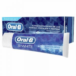 Dentifrico blancura artica oral b 75ml