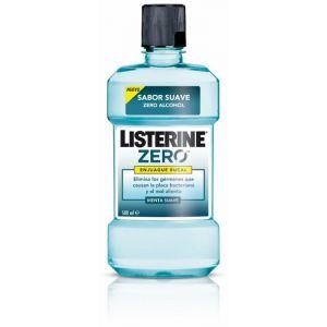 Enjuague bucal mentol suave zero listerine 500 ml