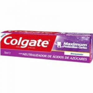 Pasta dentífrica máximum protection caries menta fresca colgate 75 ml